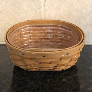 Longaberger Rasberry basket